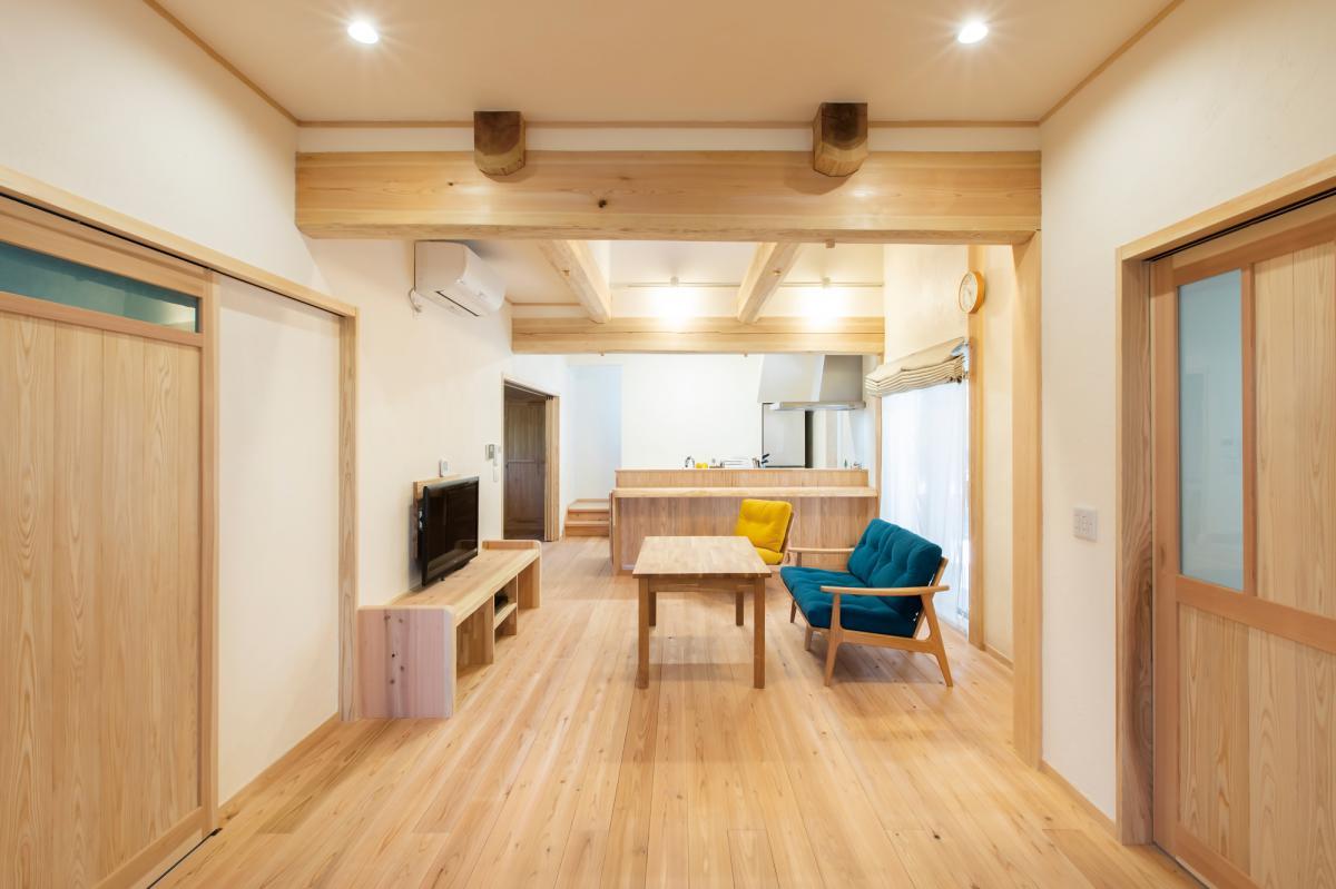 完全バリアフリー・自然素材の家(注文住宅施工事例)