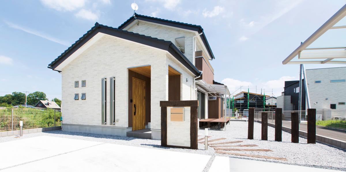 光と風が通り抜ける心地良い家
