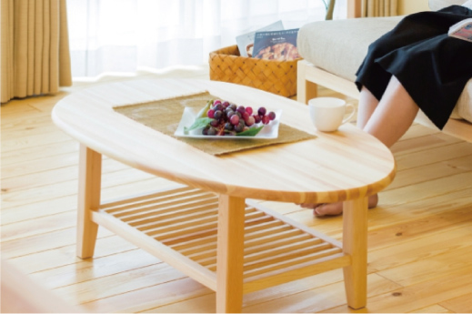 赤松ソファテーブル